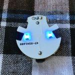 LEDが光っている写真
